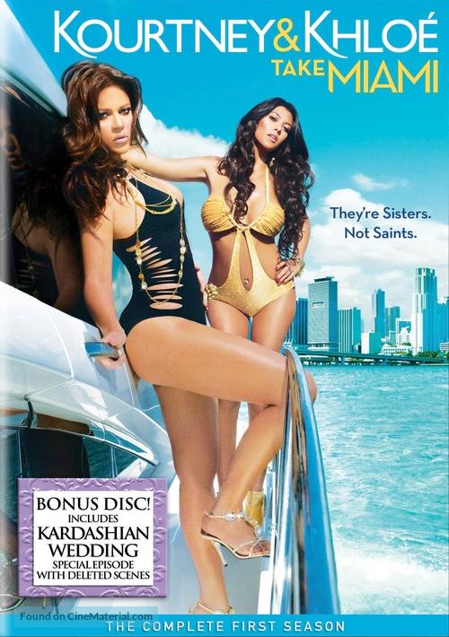 """""""Kourtney & Khloe Take Miami"""" - DVD movie cover"""