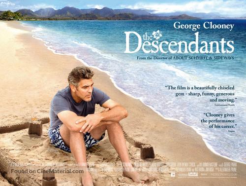 The Descendants - British Movie Poster