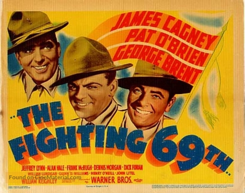 The Fighting 69th (1940) movie poster