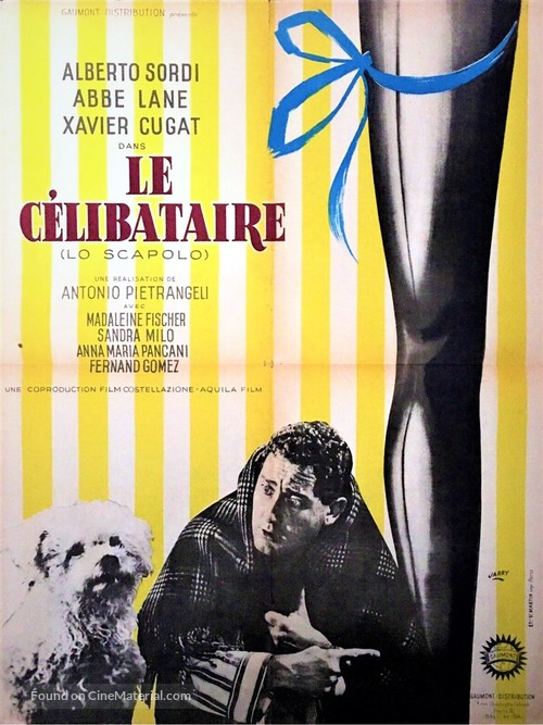 Scapolo, Lo - French Movie Poster