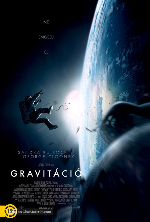Gravity - Hungarian Movie Poster