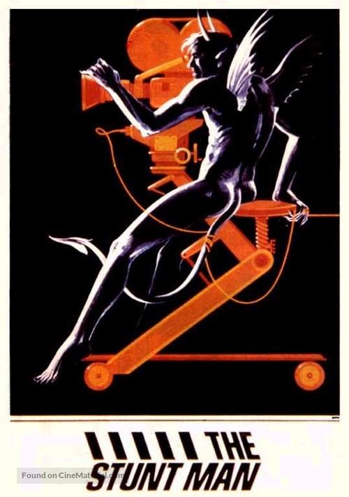 The Stunt Man - DVD movie cover