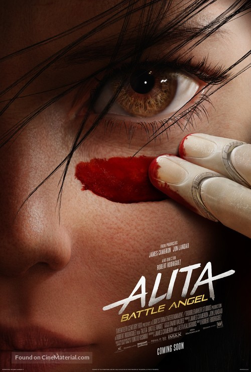 Alita: Battle Angel - British Movie Poster