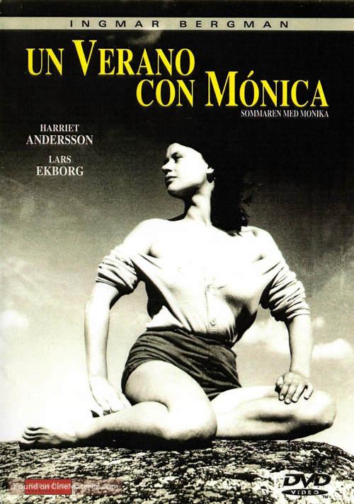 Sommaren med Monika - Spanish DVD movie cover