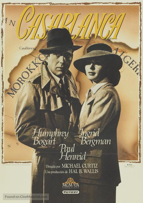 Casablanca - Spanish DVD cover