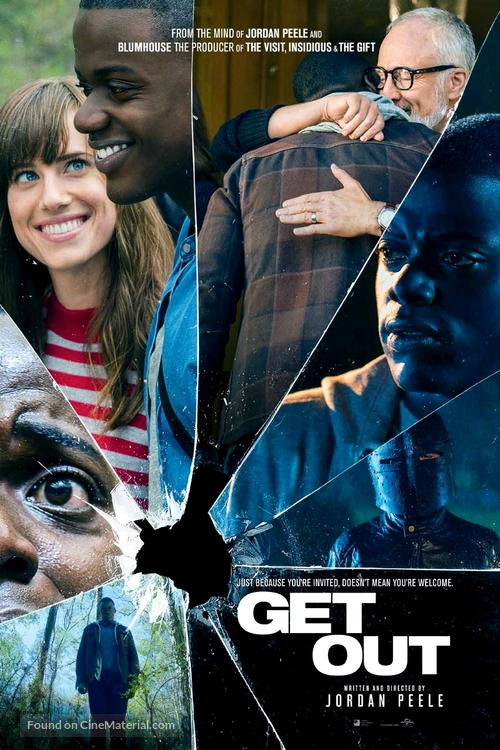 Get Out - Danish Movie Poster