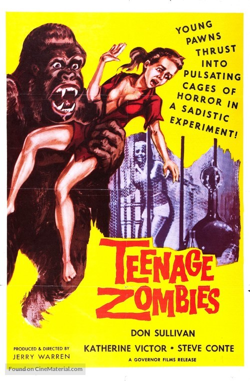 Teenage Zombies - Movie Poster