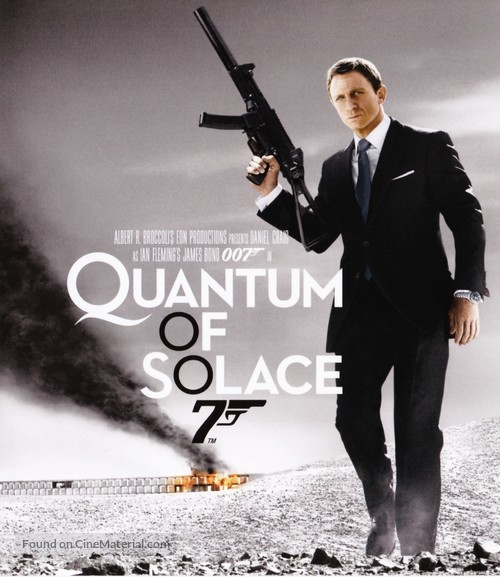 Quantum of Solace - French Movie Cover