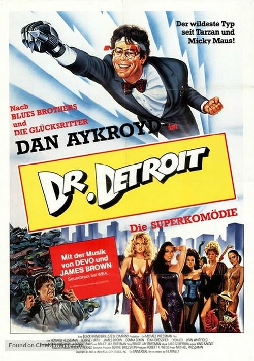 Doctor Detroit - German Movie Poster