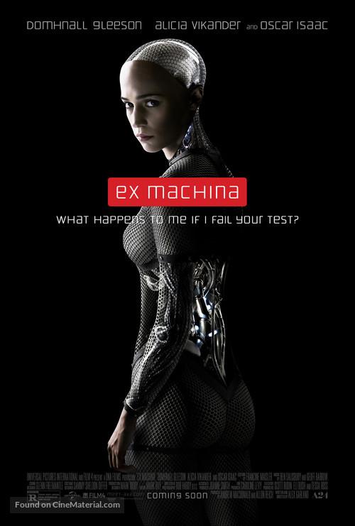 Ex Machina - Movie Poster