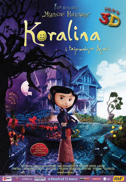 Coraline - Polish Movie Poster