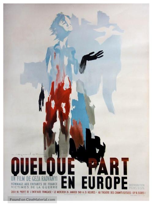 Valahol Európában - French Movie Poster