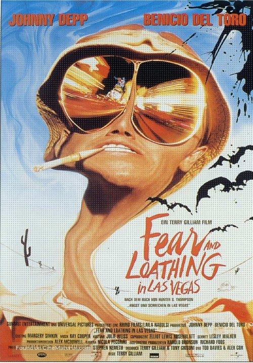 Fear And Loathing In Las Vegas - German Movie Poster