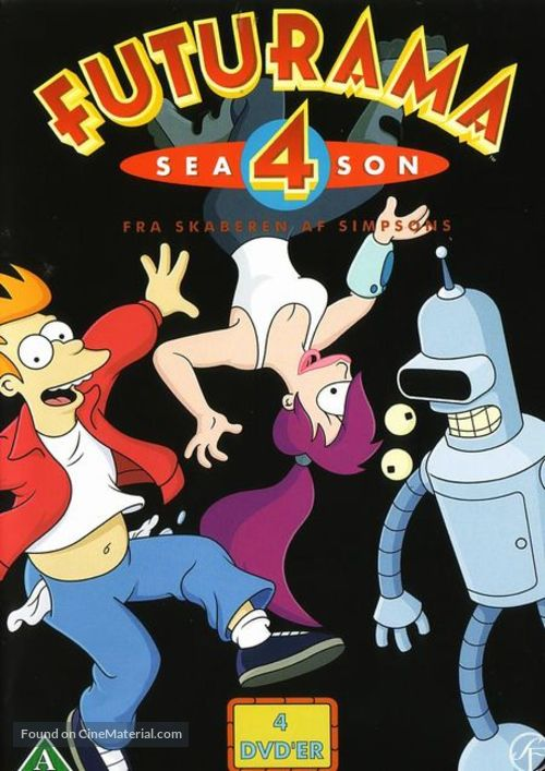 """Futurama"" - Danish DVD movie cover"