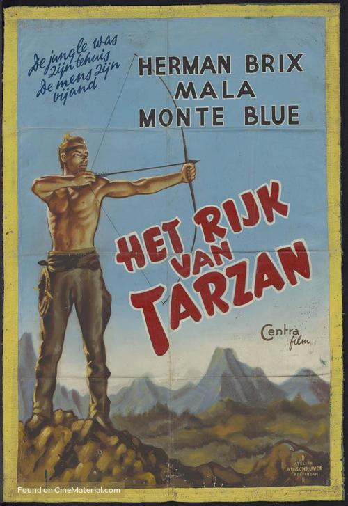 Hawk of the Wilderness - Dutch Movie Poster