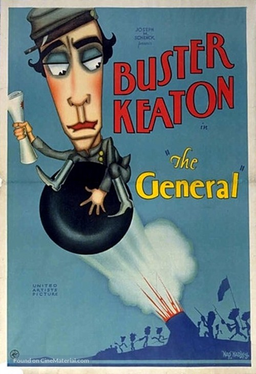 The General - Movie Poster