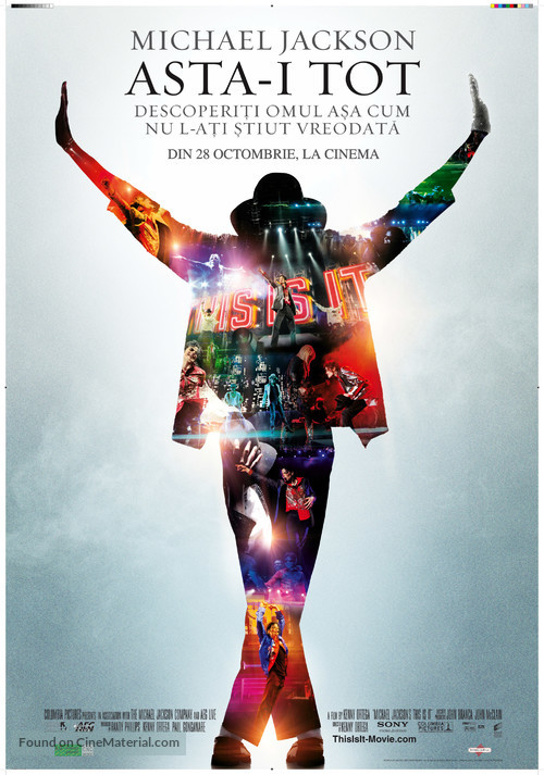 This Is It - Romanian Movie Poster