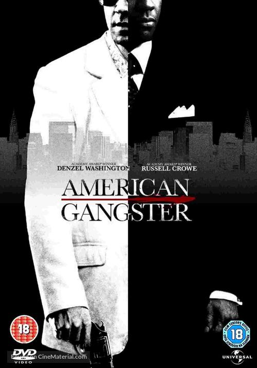 American Gangster 2007 Dvd Movie Cover