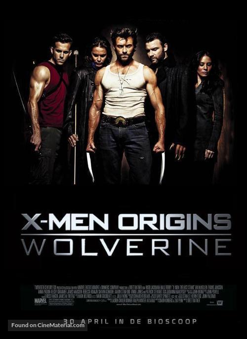 X-Men Origins: Wolverine - Dutch Movie Poster