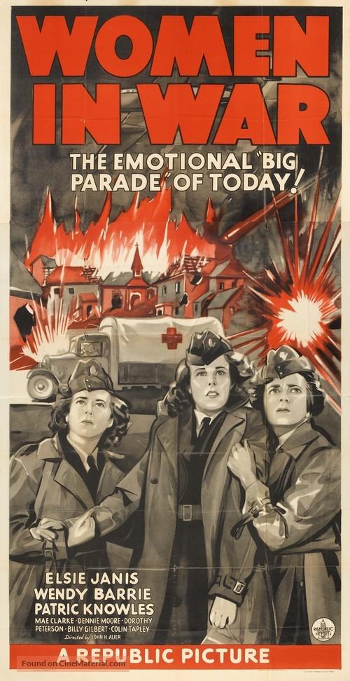 Women in War - Movie Poster