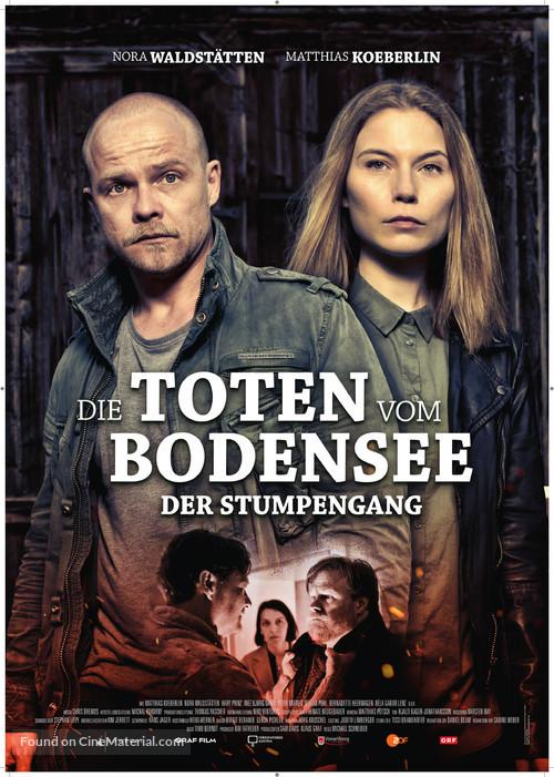 """""""Die Toten vom Bodensee"""" - German Movie Poster"""