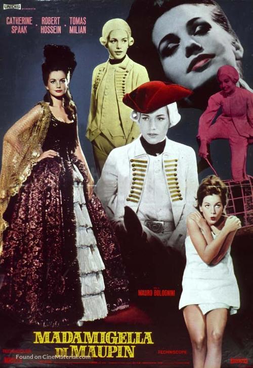 Madamigella di Maupin - Italian Movie Poster