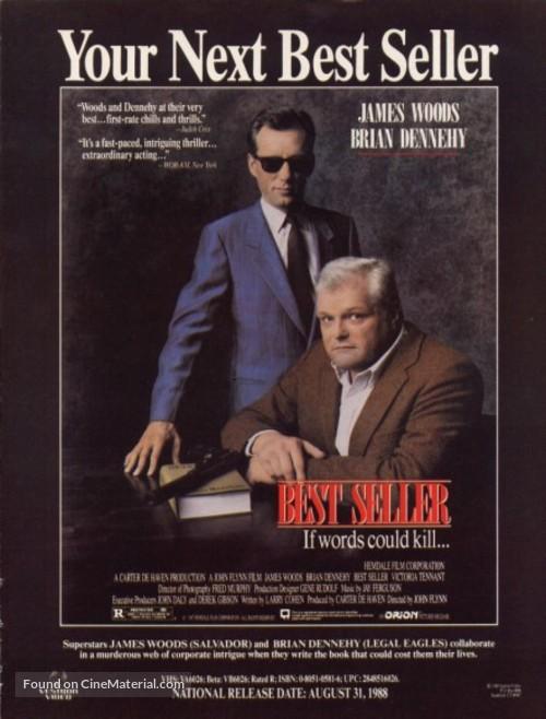 Best Seller (1987) movie poster