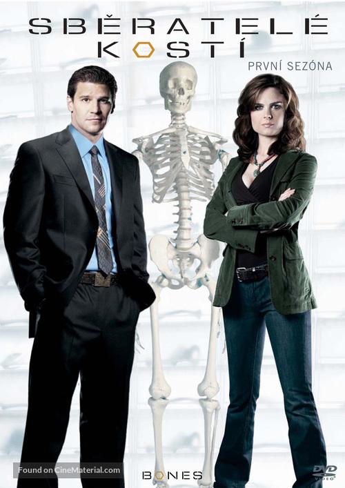 """Bones"" - Czech DVD movie cover"