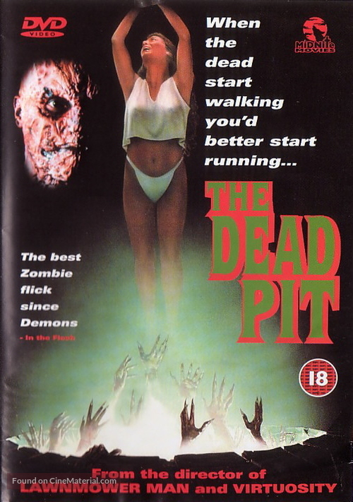 The Dead Pit - British DVD cover