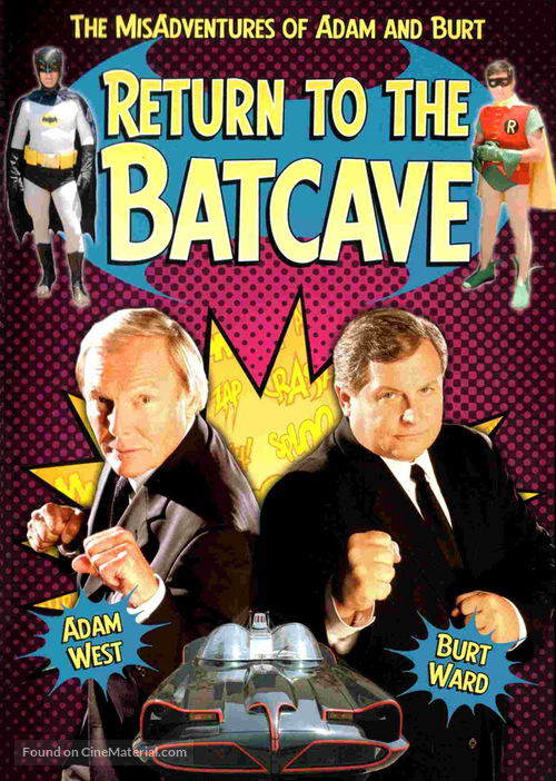 Return to the Batcave: The Misadventures of Adam and Burt - Movie Cover
