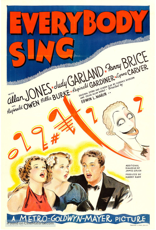 Everybody Sing - Movie Poster