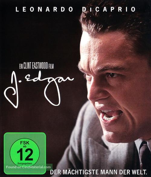 J. Edgar - German Blu-Ray movie cover