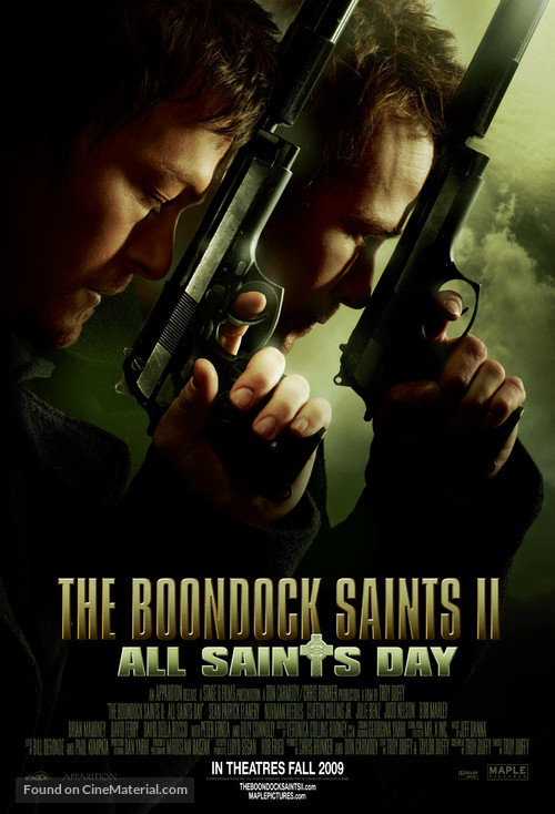 The Boondock Saints II: All Saints Day - Canadian Movie Poster