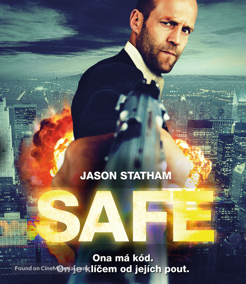 Safe - Czech Blu-Ray movie cover