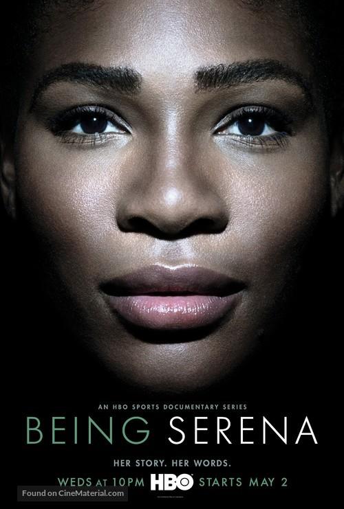 """""""Being Serena"""" - Movie Poster"""