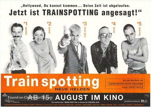 Trainspotting - German Movie Poster