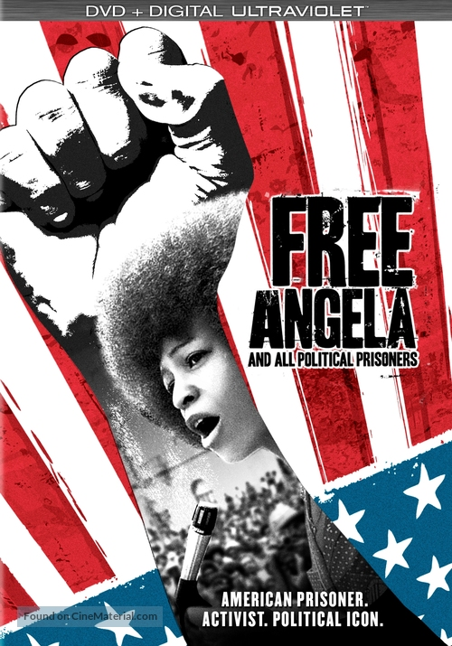 Free Angela & All Political Prisoners - DVD cover
