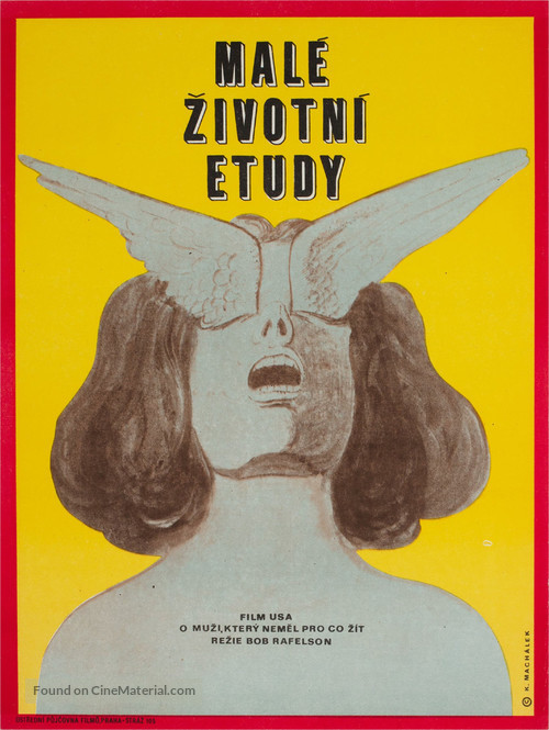 Five Easy Pieces - Czech Movie Poster
