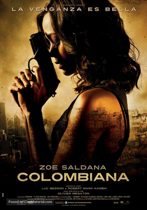 Colombiana - Spanish Movie Poster
