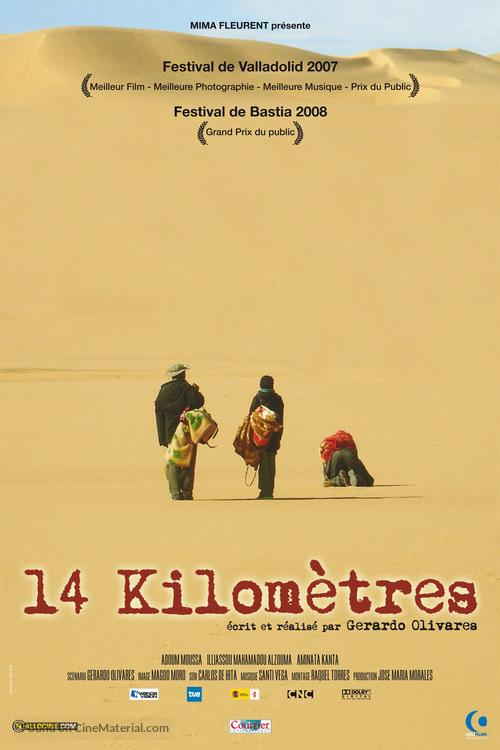 14 kilómetros - French Movie Poster