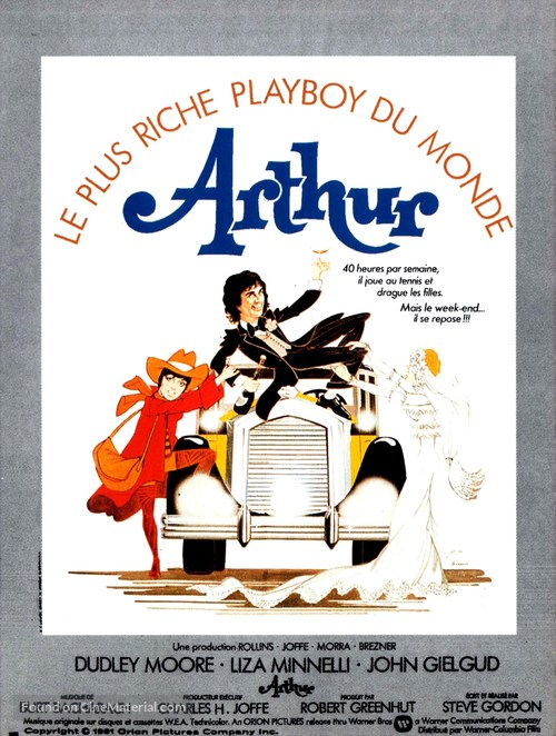 Arthur - French Movie Poster