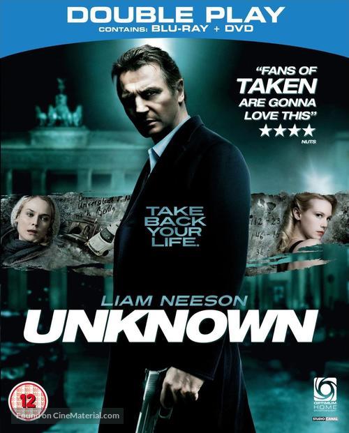 Unknown - British Blu-Ray movie cover