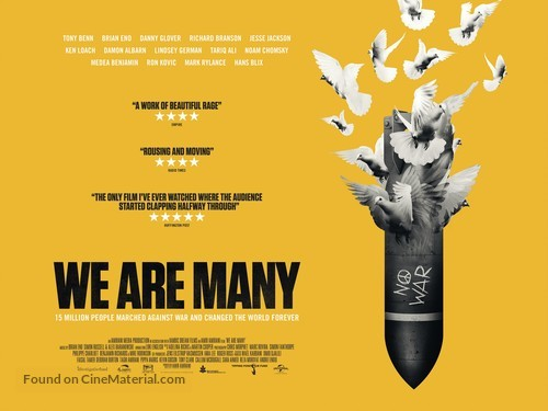 We Are Many - British Movie Poster