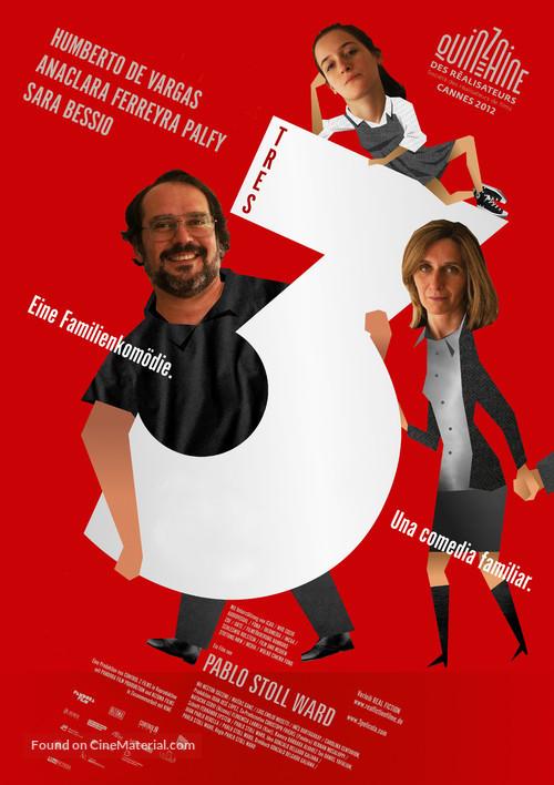 3 - German Movie Poster