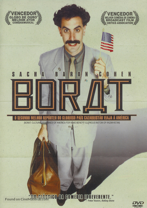 Borat: Cultural Learnings of America for Make Benefit Glorious Nation of Kazakhstan - Brazilian Movie Cover