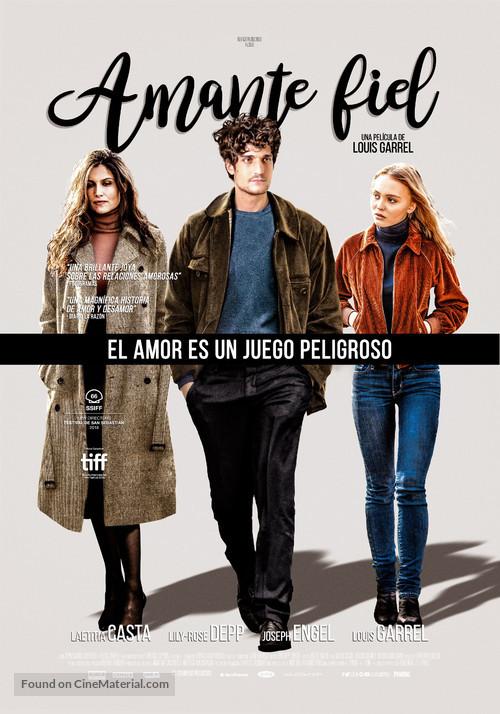 L'homme fidèle - Mexican Movie Poster
