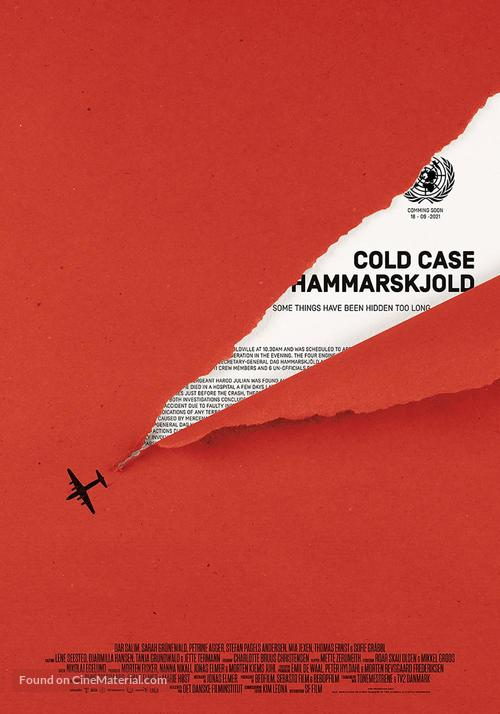 Cold Case Hammarskjöld - Danish Movie Poster