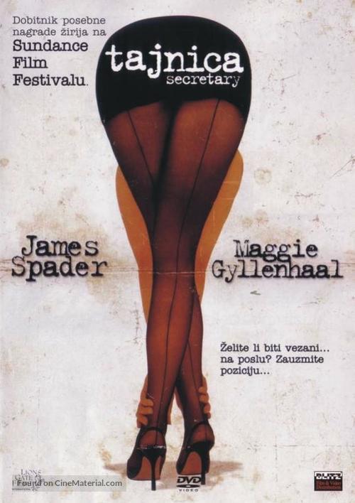 Secretary - Croatian DVD movie cover