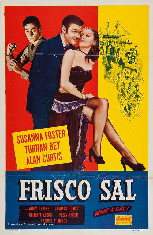 Frisco Sal - Re-release movie poster