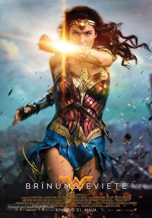 Wonder Woman - Latvian Movie Poster